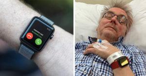 67歲阿伯「浴室滑倒」獨居沒人知 他醒來感嘆:被Apple Watch救一命