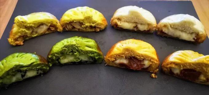 東方版披薩!餐廳用「披薩餡料」做包子...「瑪格麗特」最經典