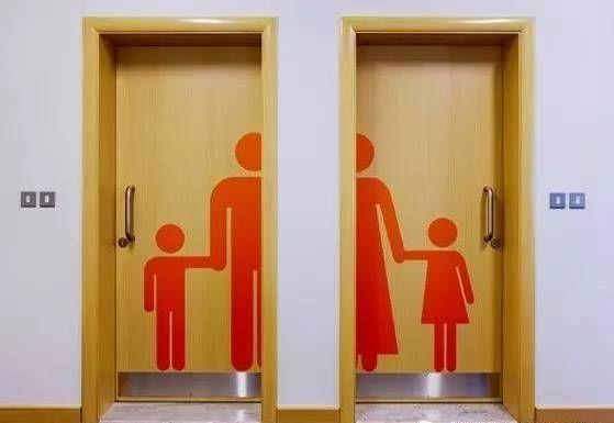 只能先憋著!20個讓你「腦袋想到快炸開」超奇葩廁所標誌
