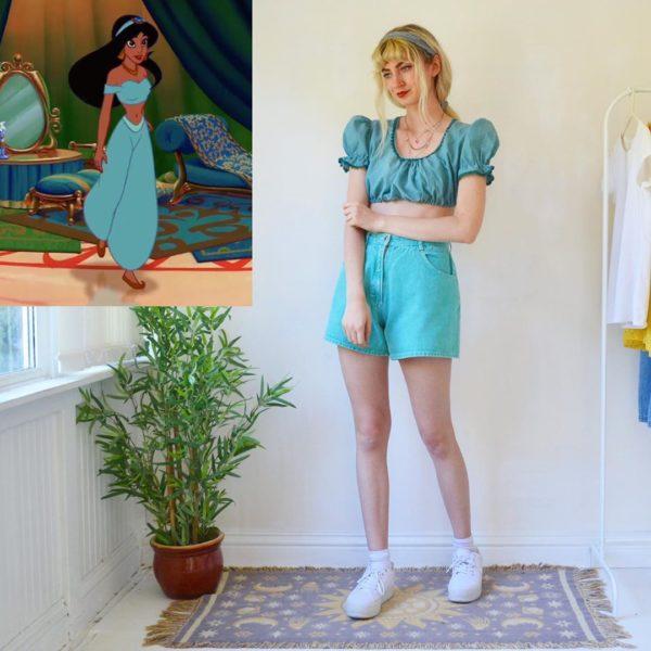 打扮成「迪士尼角色」的實用穿搭 「唐老鴨時尚」只想整套學起來!