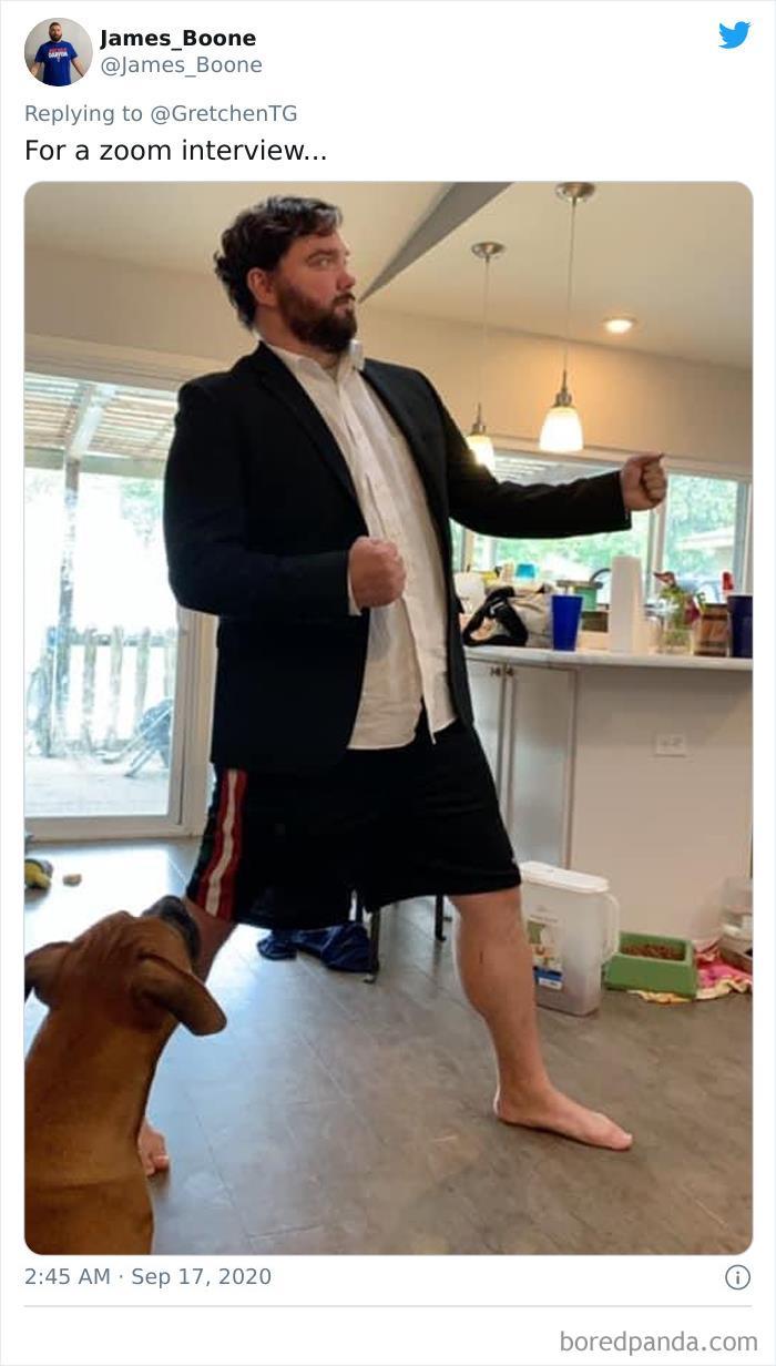 網偷拍「鏡頭下的真相」太誠實 西裝筆挺的主管...只穿四角褲!