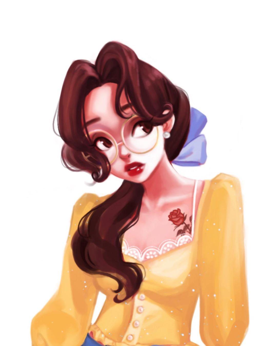 藝術家還原「便服版公主」 木蘭「挑染+頸鍊」回頭率超高!