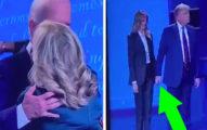 辯論後...川普VS拜登「跟老婆互動」超大對比!眼尖網友:總統夫人補了一刀