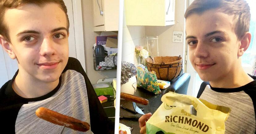 15歲男孩「這輩子只吃香腸」 終於靠催眠吞其他食物