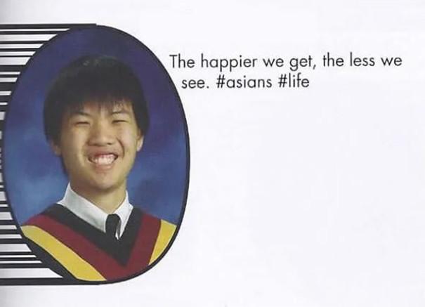永遠記得這位同學!超惡搞「畢業紀念冊」座右銘 她:剪頭髮沒人發現