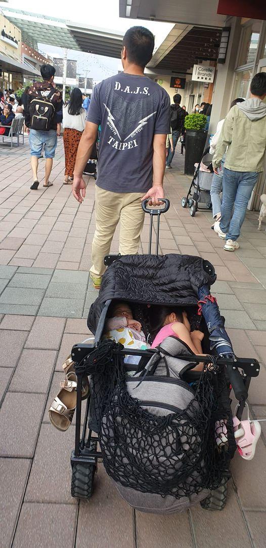 推孩子逛街被嗆「要睡回家睡」 人妻暴怒:沒生不會懂