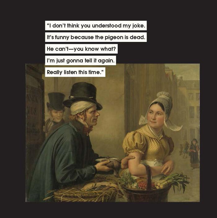 藝術家用「古畫勸世」 10種最煩人「不懂裝懂男」遇到快逃!
