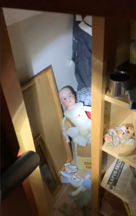 女子把新房...驚見櫥櫃有「神秘暗房」!打開後她快嚇瘋