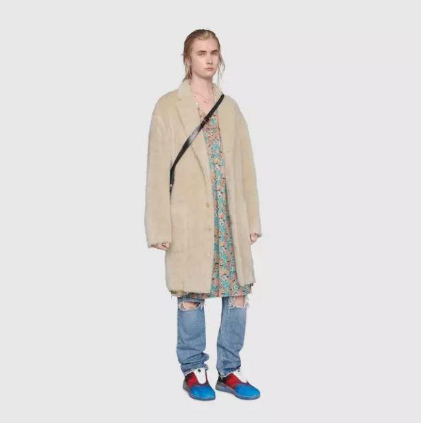 Gucci推「反差萌男洋裝」主張:我們要打破性別刻板!