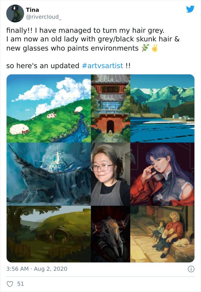 artvsartist作品與藝術家本尊挑戰