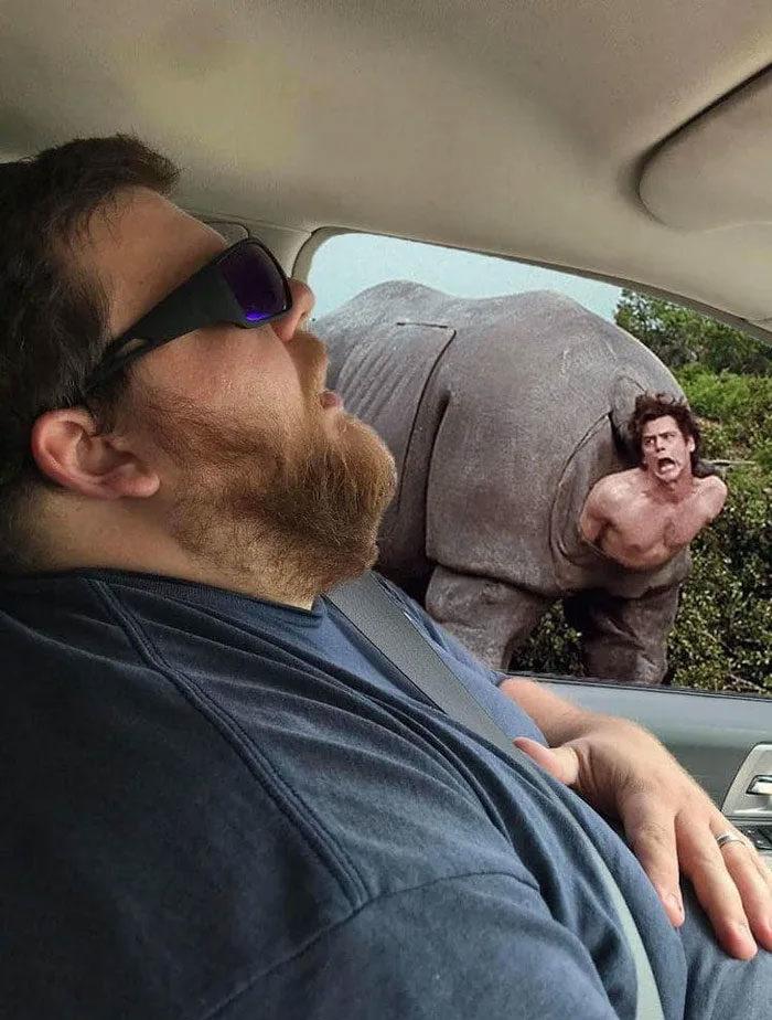 她出賣「老公打瞌睡照」 請網友告訴他「沿途錯過」的美景