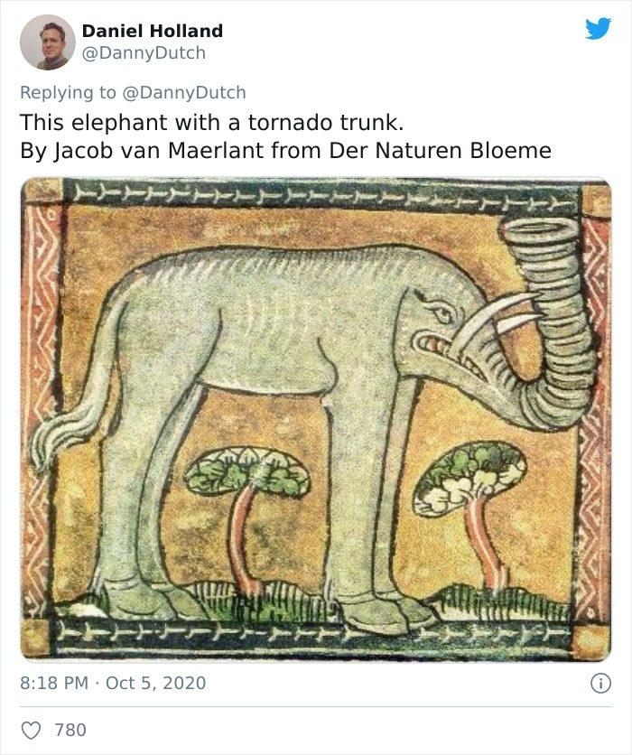 中世紀動物畫