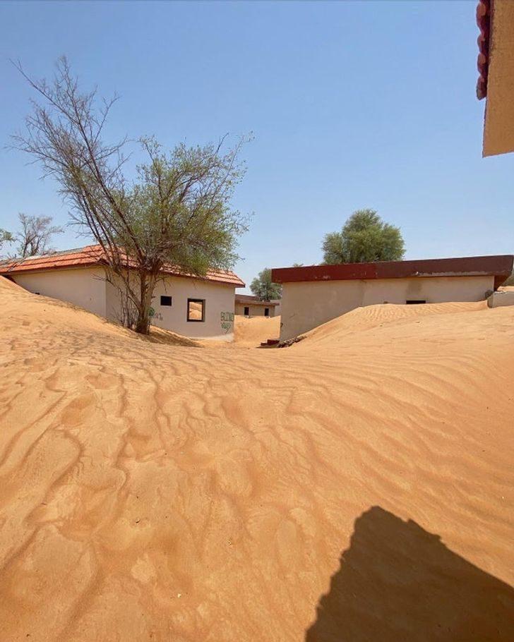 17張大自然「重新接管」地球照 其實杜拜隱藏著沙漠鬼城