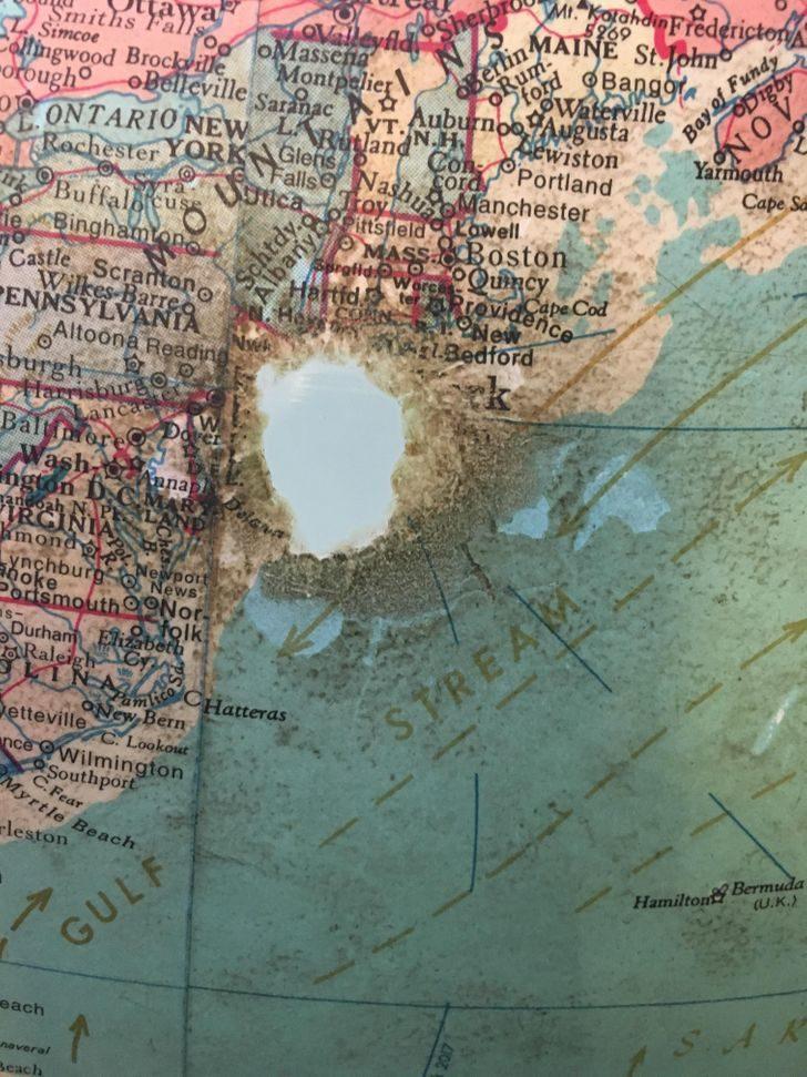 18個「被時間偷帶走」的事物 地球儀上國家直接被消失