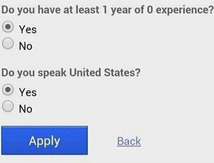 搞砸工作you had one job