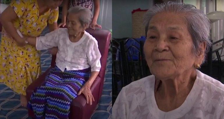 全家都陽性...100歲阿嬤卻打敗疫情!她淡定嗆:不夠二戰恐怖