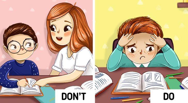 6個「父母不應該幫孩子」的重要原因 自己寫功課的小孩更聰明