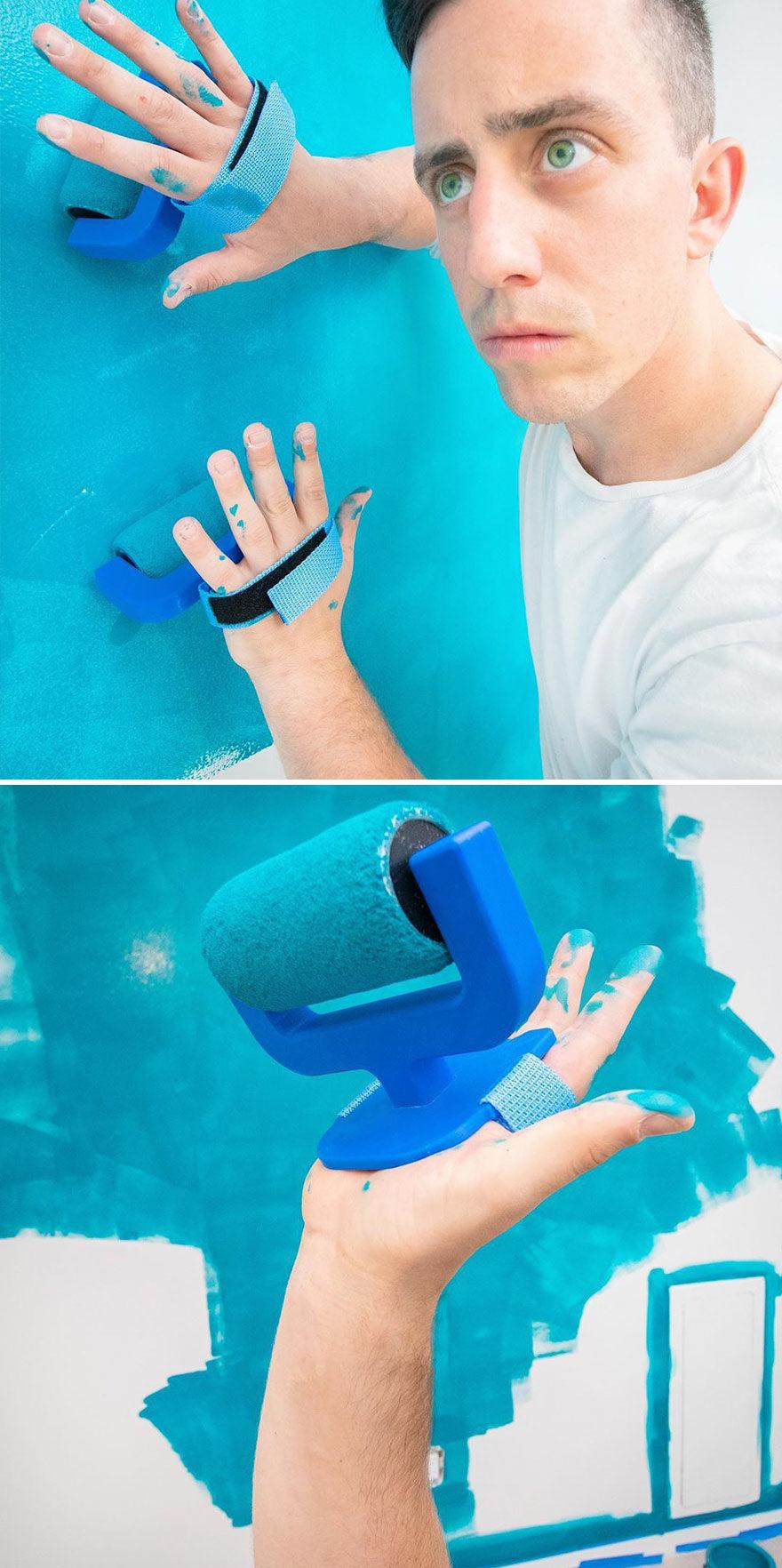20個解決不存在問題的「無用發明」 「浴簾毛巾」很天才
