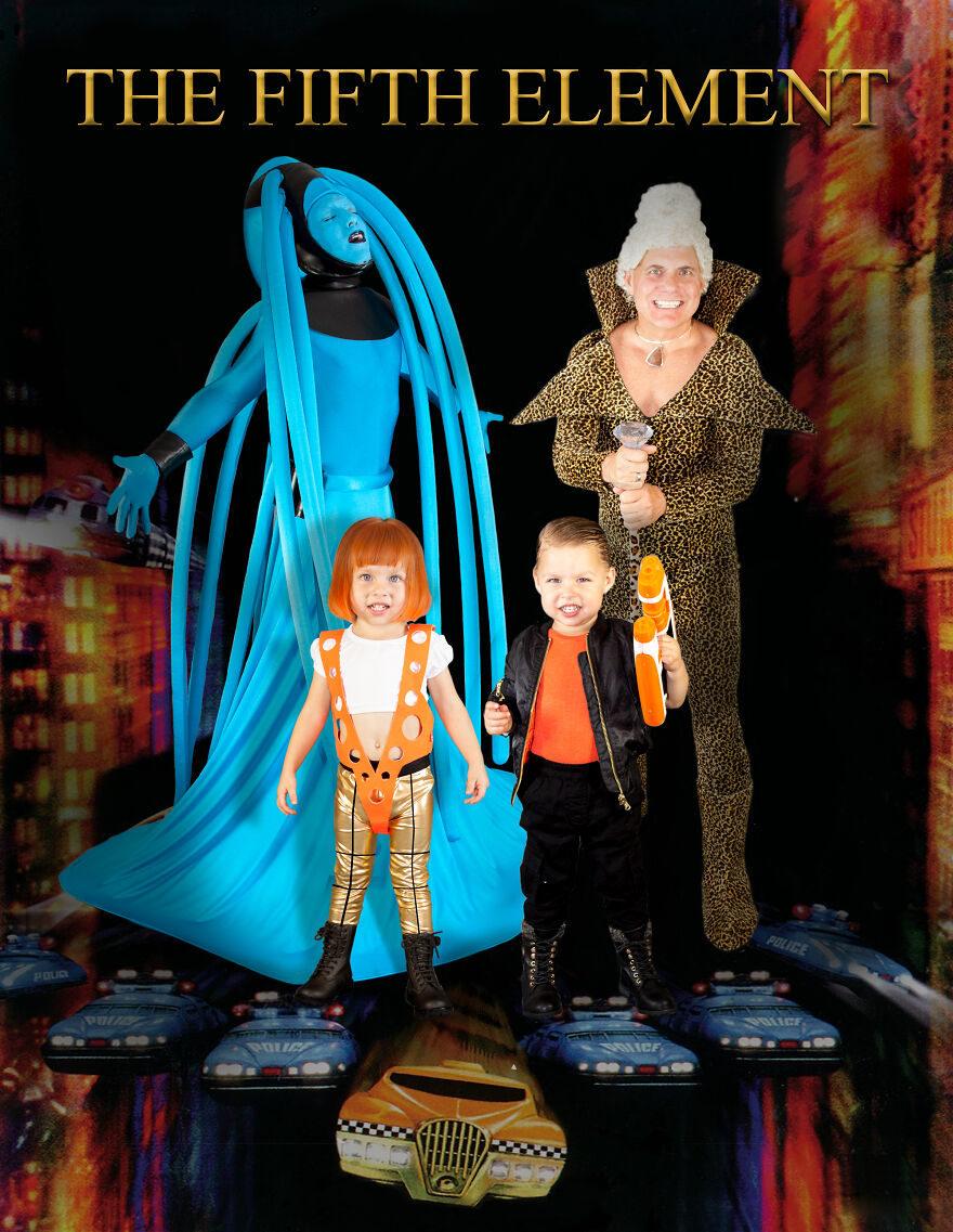 最好玩家族照!每年換一個主題 兩個爸爸為孩子「親手打造萬聖裝扮」