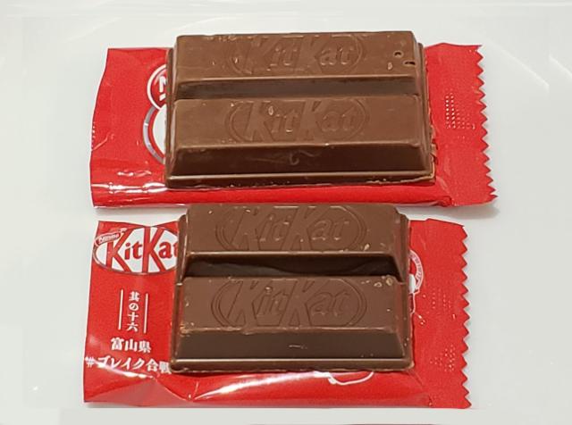 網友抓包「KitKats巧克力」縮小 官方:為了消費者好