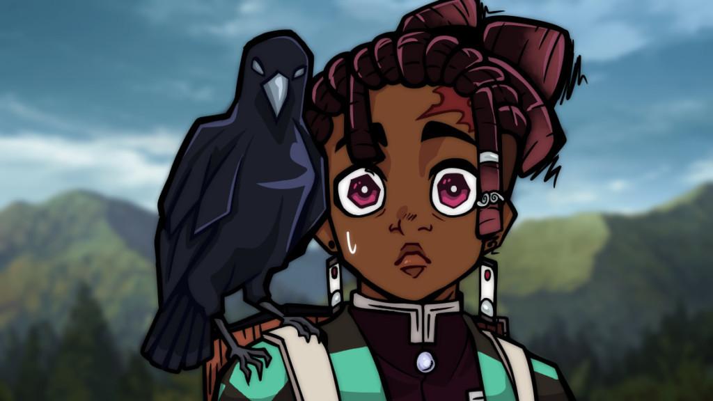黑人化動漫角色#blacktober 從一篇《動畫對黑人描寫不正確》的指責開始
