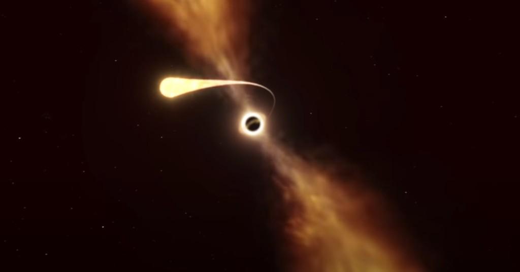 影/恆星「被黑洞整個吞噬」!毀滅前「最後一道閃焰」全過程曝光