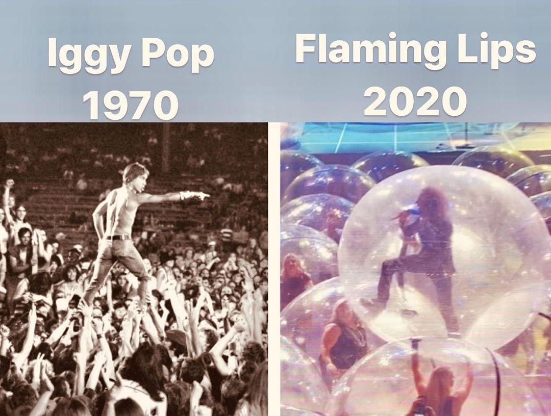 影/樂隊在疫情開唱 讓百人身處「泡泡球」同時搖擺超震撼