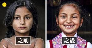 曾是世上「最被壓榨的小孩」 攝影師幫他們「做回正常人」拍下最真實笑容!