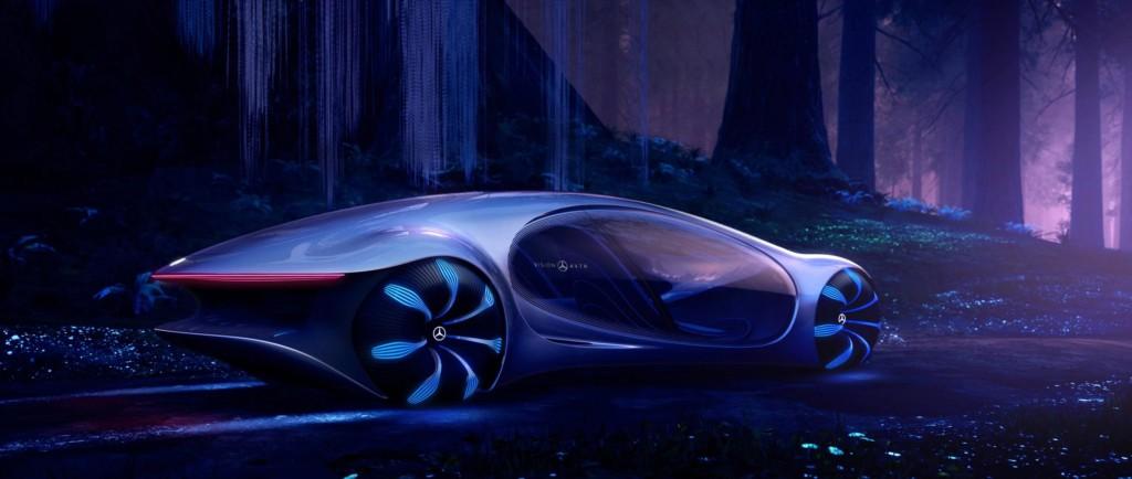 受《阿凡達》啟發!賓士概念車VISION AVTR 只要「用手感應」就能前進