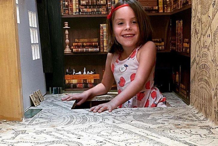 6歲女孩衣櫃「直通哈利波特」魔法世界 連貓頭鷹都有賣