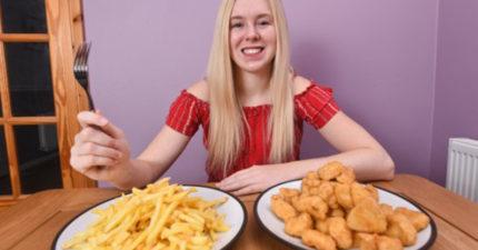 雞塊狂人15年來只愛這味 狂嗑8.7萬個:沒辦法吃其他食物
