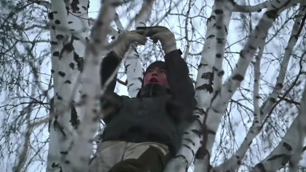 21歲男大生「為了上課」被迫爬8公尺樹頂 每天「 5度」坐樹技苦讀!