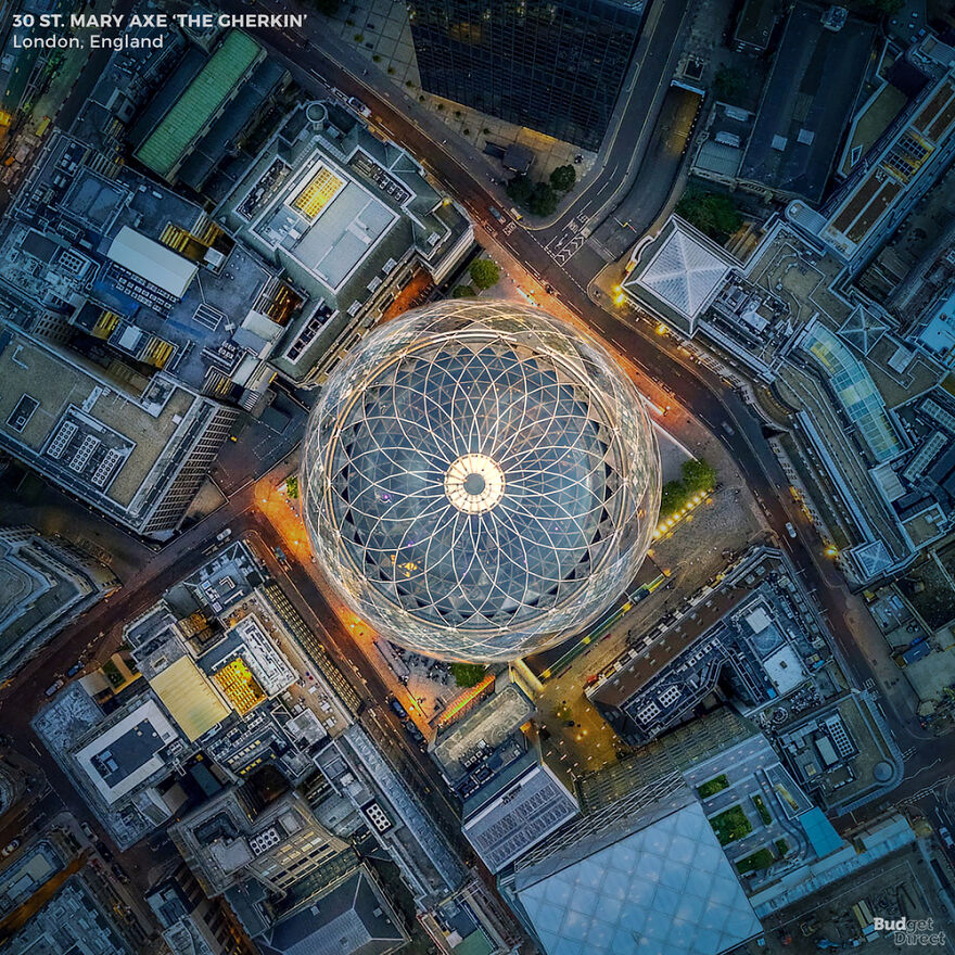 6張知名地標「俯視照」快認不出來 巴黎鐵塔美到連外星人都忌妒
