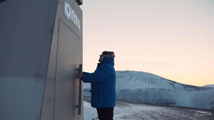 OREO建「末日金庫」保護餅乾 就算小行星撞地球也撐得住