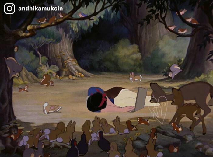 現實中的迪士尼