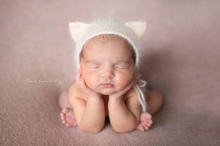 19張新生寶寶「熟睡萌照」 戴上兔耳那刻天使降臨了❤