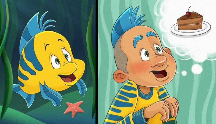11個迪士尼角色「變人類」模樣 史迪奇變正太想報名當乾媽❤