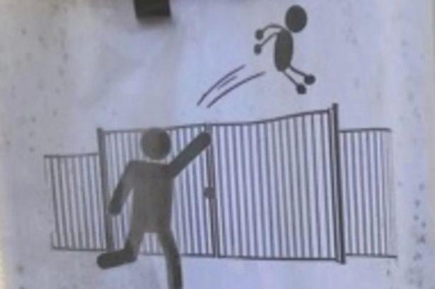 小學發警告「禁止父母丟小孩」!警衛抓狂:2公尺柵欄都擋不住