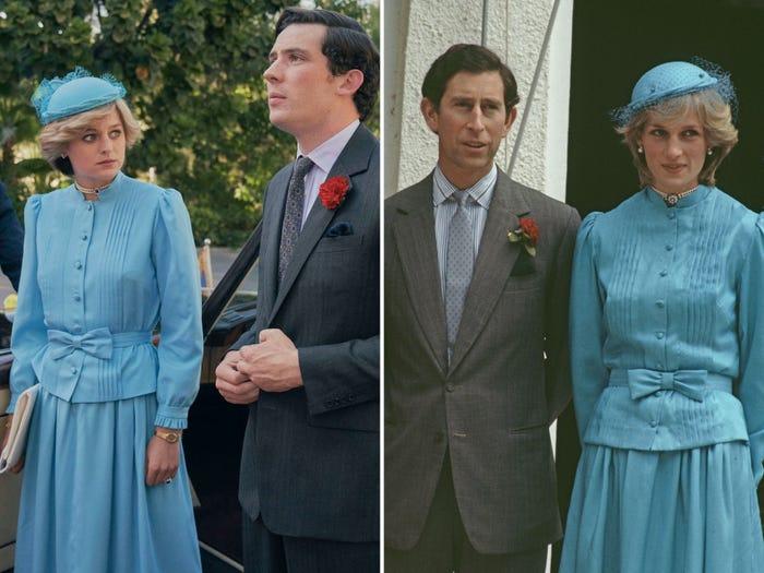 黛妃與查爾斯身高
