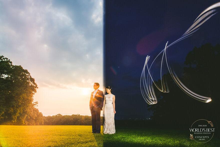 22張讓人想「馬上步上紅毯」的婚禮攝影...沒看過這樣的視角!