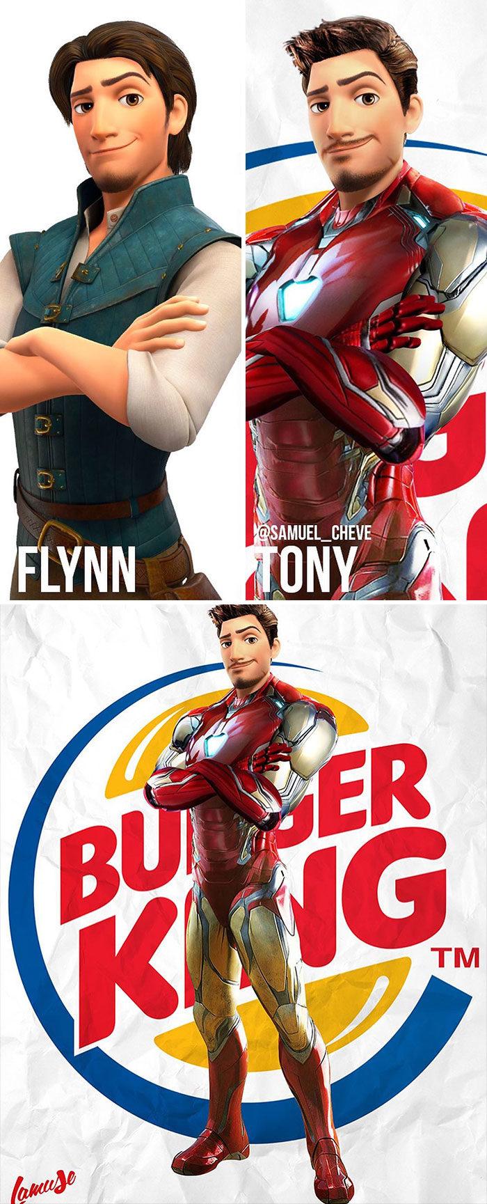 迪士尼結合漫威