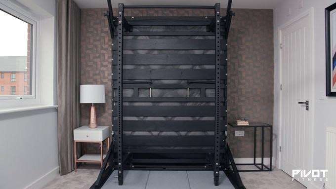 不再有怠惰的理由!床一掀「變健身房」 不離開臥室也能減肥