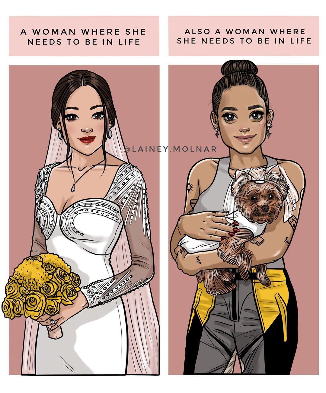 美女藝術家「眼中的女人」是什麼樣子 是誰規定妳要28歲就結婚?