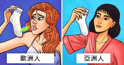 老外超羨慕「亞洲人沒體味」?研究證亞洲人「基因突變」讓他們不會臭!