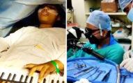 9歲女童開顱「沒全身麻醉」 必須「連彈6小時鋼琴」琴聲停止就慘了