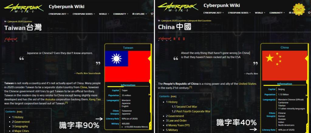不只台獨背景!電馭叛客設定「中國是文盲國」 中國網友急滅火:不要自卑
