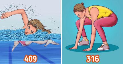 還用「跑步減肥」就太笨了!9個「比跑步還有效」消脂運動