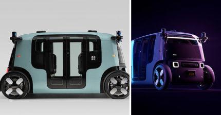 亞馬遜世界首台「無人駕駛」計程車!室內像《星際效應》閃技超強