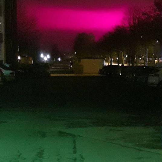 小鎮「節能系統」把夜空變紫色 鳥都變糊塗....居民怒:完全睡不了