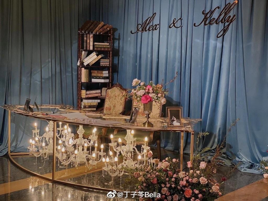海砸4億「夢幻婚禮」愛馬仕當伴手禮...3盞水晶燈直接塞桌下!